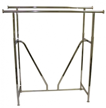 Double Bar Straight Rack<br>With V-Brace & Accessories