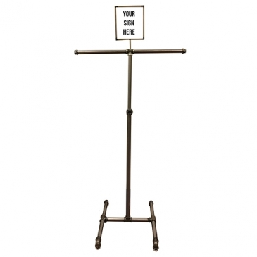 "2-Way Adjustable Pipe Rack 41"" - 68"""