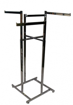 "4-Way High Capacity All Rectangular Rack With 4 Straight 22"" Rectangular Arms"