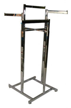 "4-Way High Capacity All Rectangular Rack With 4 Telescoping Straight 16"" - 22"" Arms"