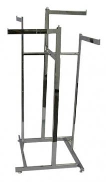 "4-Way Low Capacity All Rectangular Rack With 4 Straight 16"" Rectangular Arms"