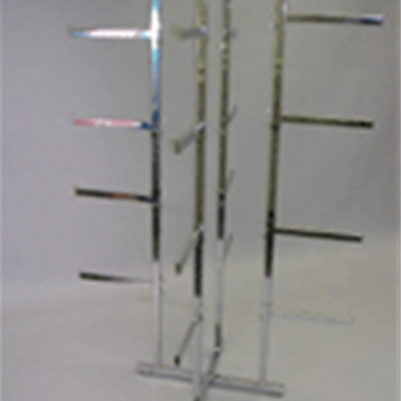 Folding base only for lingerie rack