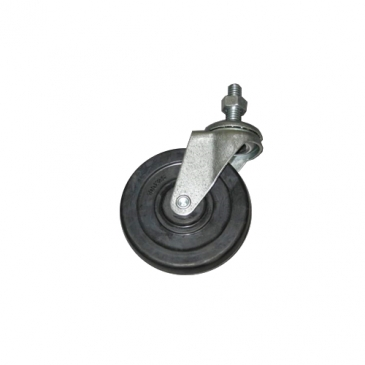 Heavy duty set of 4 casters for dumpbin