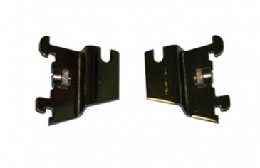 Grid offset mounting bracket fits most slotted standards