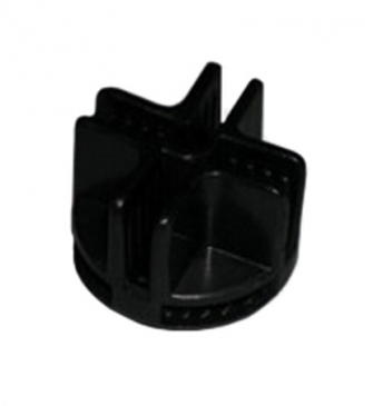 Plastic grid connector