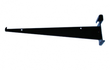 "12"" Shelf bracket with lip for grid"
