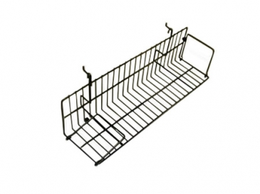 "47-1/2""L X 6""D Angle shelf for grid/slatwall"