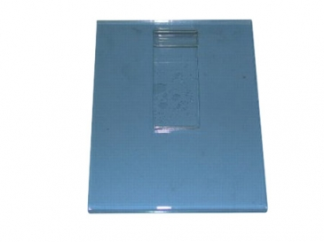 "7""H X 5-1/2""W Vertical plexi cardholder for grid"
