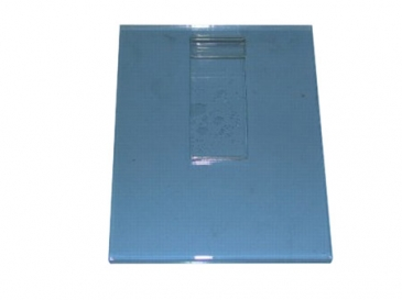 "11""H X 7""W Vertical plexi cardholder for grid"