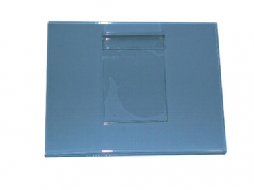 "7""H X 11""W Horizontal plexi cardholder for grid"