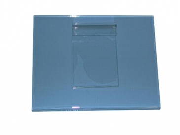 "8-1/2""H X 11""W Horizontal plexi cardholder for grid"