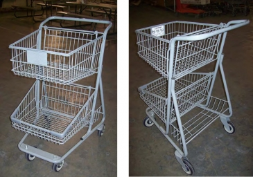 2-Tier Cart W/Lower Tray
