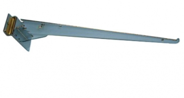 "14"" Adjustable Shelf bracket with lip for slatwall"