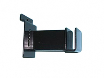 "3"" Hangrail bracket holds rectangular tubing for slatwall"