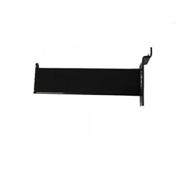 "6"" Faceout rectangular tube for slatwall"