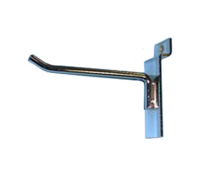 "2""Hook with 30-degree tip for slatwall"