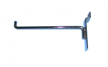 "6""Hook with 90-degree tip for slatwall"
