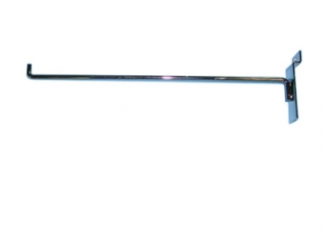 "12""Hook with 90-degree tip for slatwall"