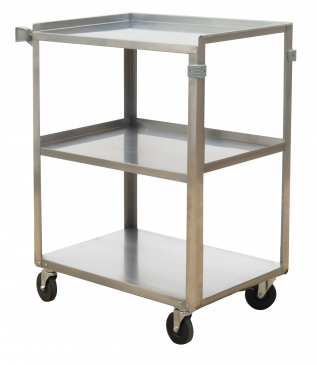 Stainless Steel<br> Service Carts