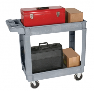 Deluxe Plastic <br>Service Carts