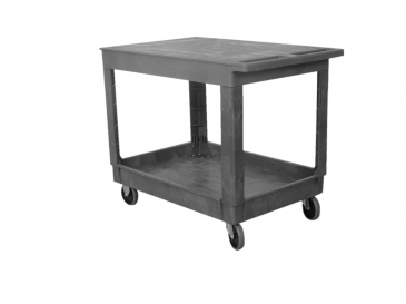 Standard Plastic <br>Service Cart Flat Work Surface