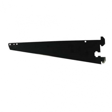 "12""Shelf or hangrail bracket for standard 1""slot 2""on center"