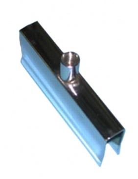 "Spring clamp for rectangular tube fits 3/8""threaded stem"