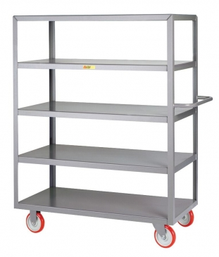 Welded 5-Shelf Service Cart