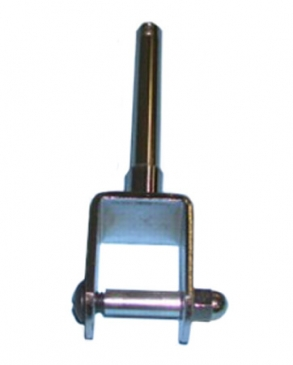 "Clamp for 1""square tube with 3/8""threaded stem 3""long"