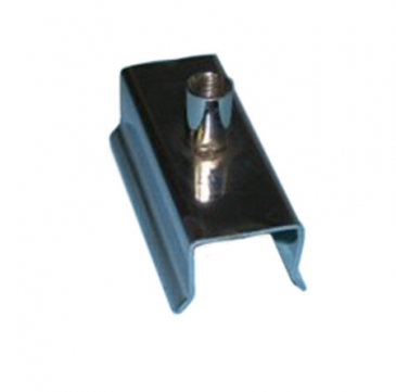 "Clamp for 1""square tube with 3/8""threaded stem"