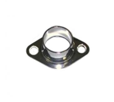 "Flange closed for 1"" Diameter round tube wallmount"
