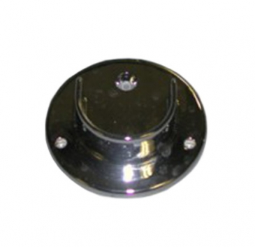 "Flange open for 1-1/4"" Diameter round tube wallmount"