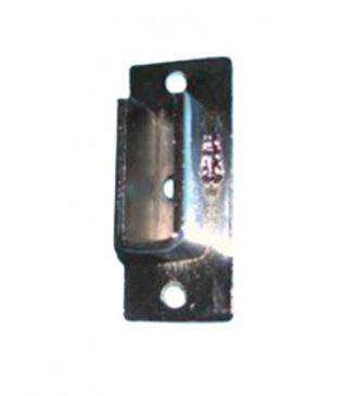 Open Flange for rectangular tubing wallmount