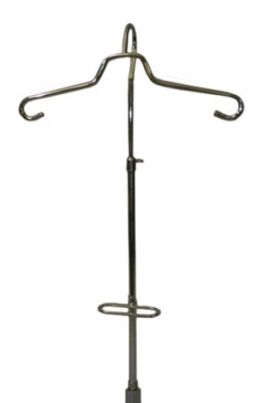 "Gooseneck with cinch adjustable 18""to 36""fits 5/8""threaded base"