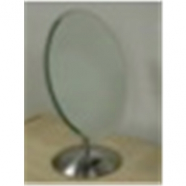 "Deluxe 8'W X 10""H Glass counter Mirror"