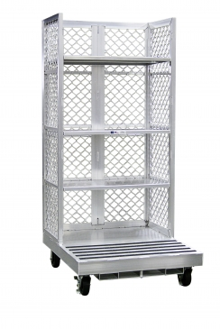 Forklift Order Picking Cart with Three Adjustable Shelves