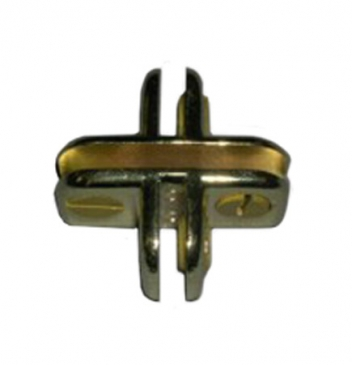 4-Way adjustable metal cubbie clip