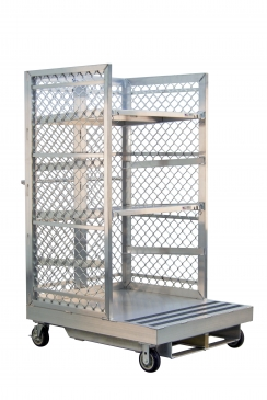 Forklift Order Picking Cart with Two Shelves