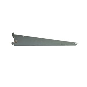 "16""Shelf or hangrail bracket for standard 1""slot 2""on center"