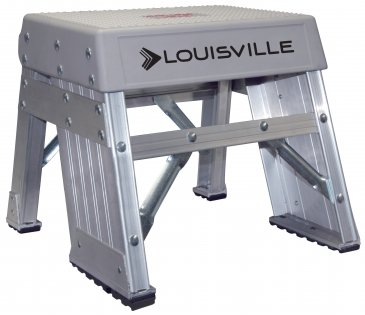 LOUISVILLE INDUSTRIAL STEP STANDS AY8000 SERIES 300 LBS<br> (1, 2, & 3 Steps)
