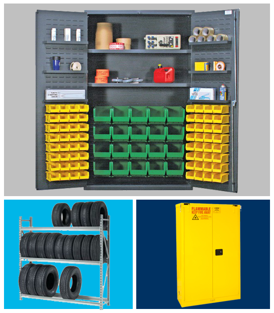 Safety, Storage & Shelving