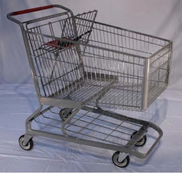 Deep Scanner Metal Cart