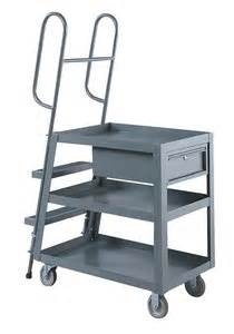 Stock Picking Ladder Cart