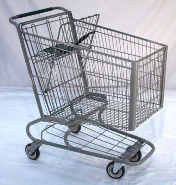 Large Metal Cart