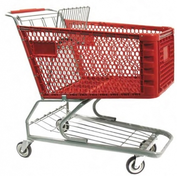 Plastic Deep Scanner Cart