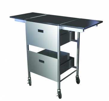Sign Solution Cart With Expandable Top
