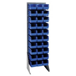 "Single Sided Louvered Rack, 18""Wide"