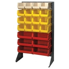 "Single Sided Louvered Rack, 36""Wide"