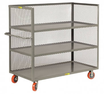 3 Sided Mesh Stock Cart